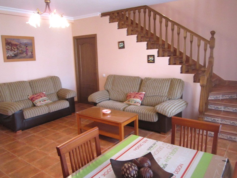 Apartamento loft calatrava en almagro for Salas con escaleras